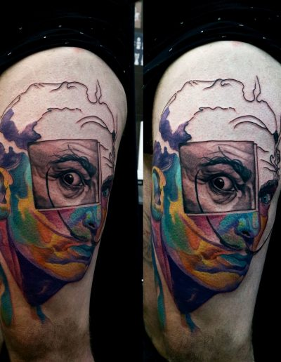 dali_tattoo_realistic_colour_trippin_abstract
